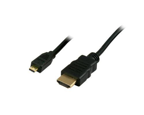 Câble HDMI High Speed vers Micro HDMI 1.8 mètres Connectland