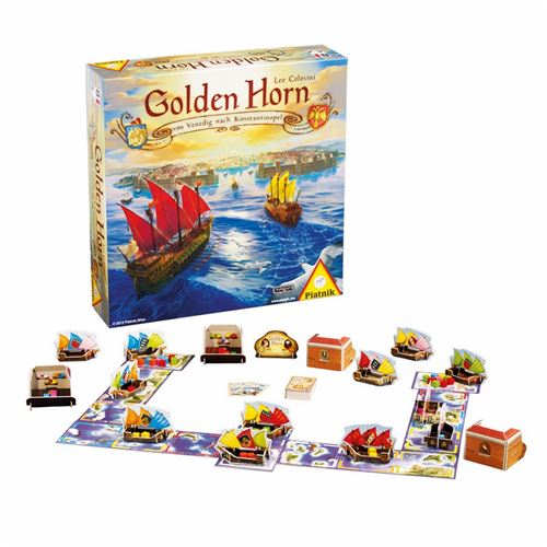 PIATNIK Jeux - Golden Horn Multicolore