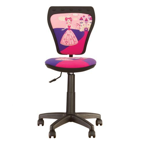 Chaise, Fauteuil De Bureau Enfant Ministyle Princesse Rose.