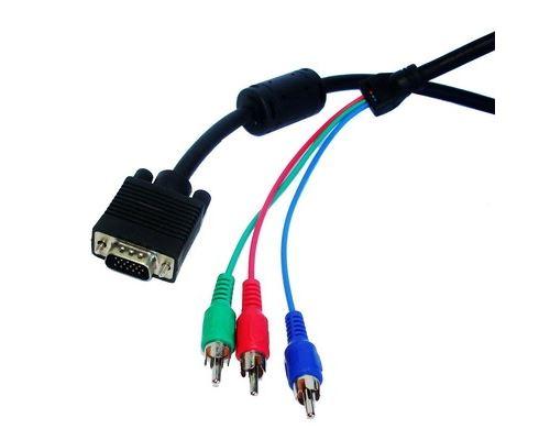 (#29) 1.5m VGA to RGB Cable(Black)