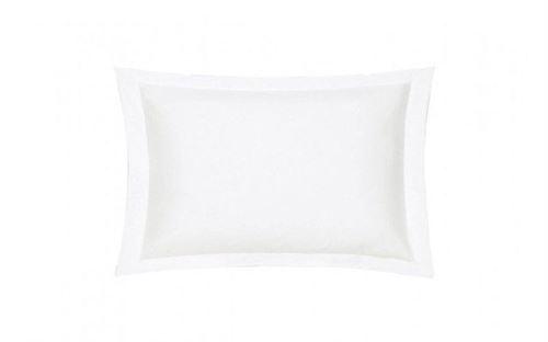 Taie oreiller Percale Blanc 65 x 65
