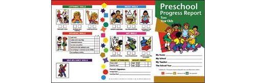 Preschool Progress Report (2 year olds)