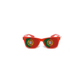 Lunettes Portugal Vert Supporter Rouge Ygbfv76yI