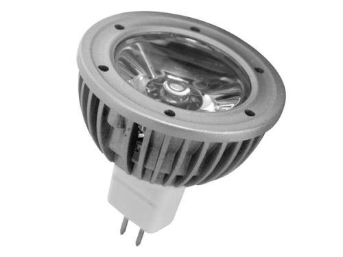 Lampe a LED MR16 1W blanc neutre (3900-4500K) - 12VCA/CC