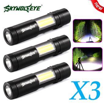 Q5Cob Modes Led Lampe Penlight Aa Torche 3x Mini 4 De Poche 14500 Xpe hQtsrCd