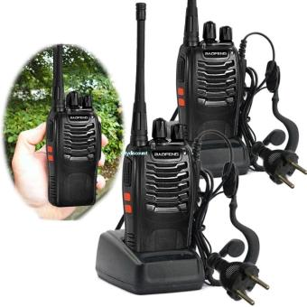 Sur Baofeng BF Talkie Walkie UHF MHZ CH W - Talkie walkie longue portée