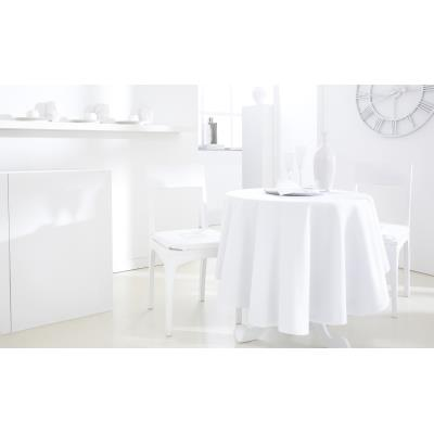 Nappe ronde polyester FAMILY 180cm Chantilly