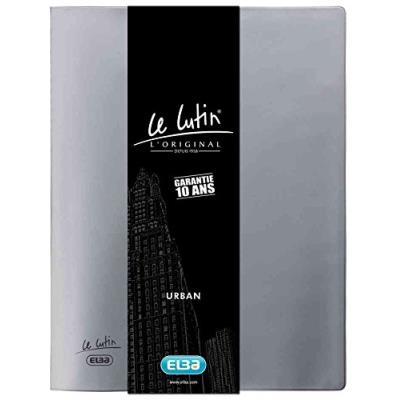 Elba protège-documents le lutin urban, 30 pochettes, gris 400045985