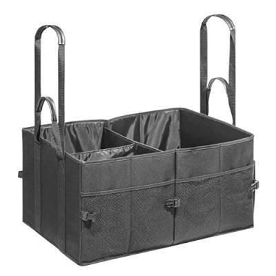 Wedo bigbox sacoche de rangement xl pour coffre de voiture 60 x 40 x 30 cm noir 0582531