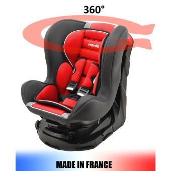 5 Sur Siege Auto Pivotant 360 Et Inclinable 4 Positions Made In