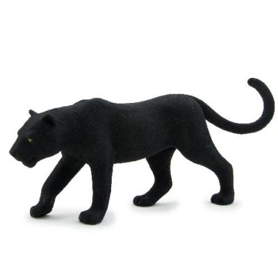 Mgm - 387017 - figurine animal - panthère noire grand modèle - 13,5 x 5 cm animal planet ft-7017