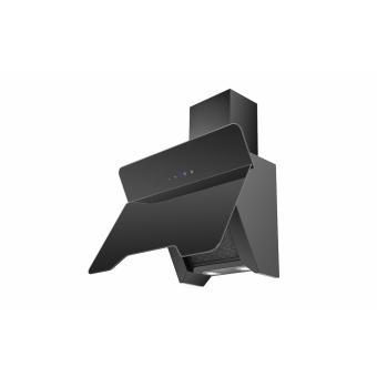 hotte d corative murale noire 60 cm urban 23824. Black Bedroom Furniture Sets. Home Design Ideas