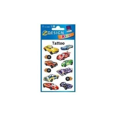 Avery tatouages pour enfants automobiles forme pratique 56685