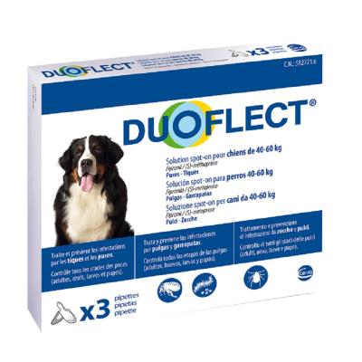 Duoflect Chiens 40-60 kg 3 pipettes