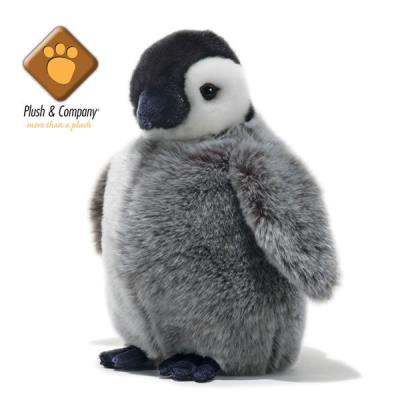 Benjamin - Peluche de bébé pingouin - 27 cm
