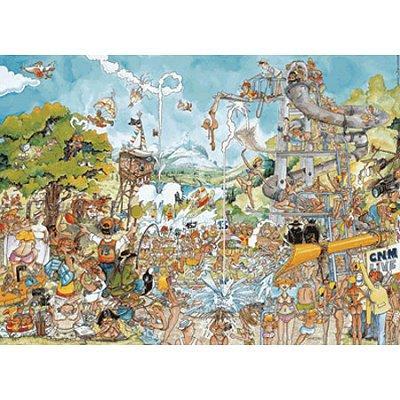 King Puzzles - Puzzle 1000 pièces - La Piscine