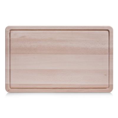 Zeller boys 22769 planche à découper bois de hêtre 45 x 28 x 1,5 cm