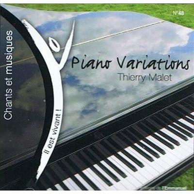 Piano , Variations Thierry Malet