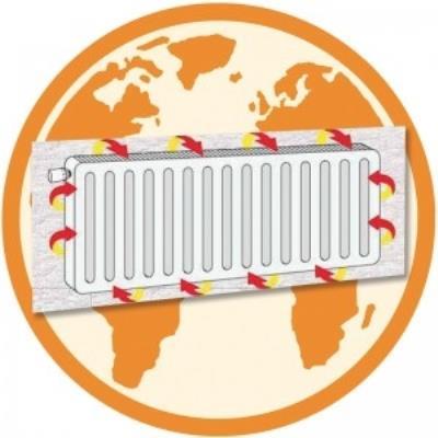 Panneau isolant reflecteur pour radiateur pack energie eq0372