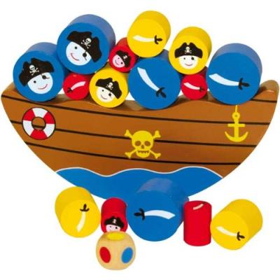 Ulysse couleurs d'enfance - 3836 - jeu de société - bateau balancier