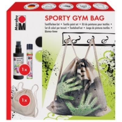 Marabu Kit Créatif De Peinture Pour Textile Sporty Gym Bag