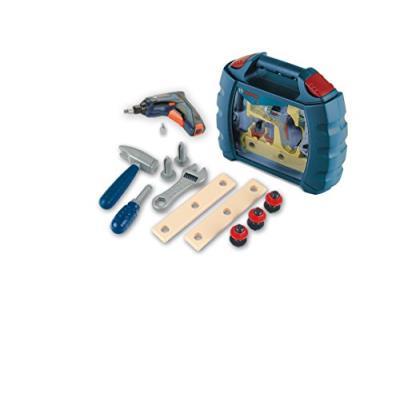 Klein - 8262 - jeu d'imitation - mallette outils bosch blue line avec visseuse