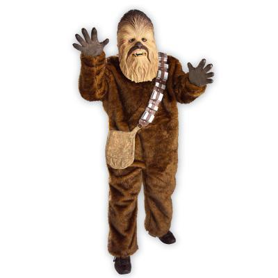 Déguisement Deluxe Chewbacca - Star Wars - Enfant-Enfant-7/9 ans (120 à 132 cm)