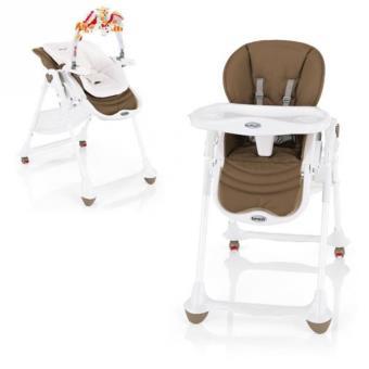 brevi chaise haute volutive 2 en 1 moka chaises hautes et r hausseurs achat. Black Bedroom Furniture Sets. Home Design Ideas