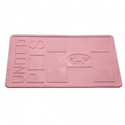 Set pour gamelle antidérapant mustafa rectangle - rose clair