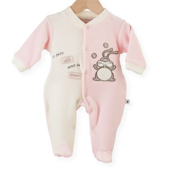 07a5b5be5297c Pyjama naissance fille - Un petit câlin