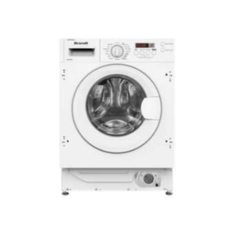 brandt bwf800i machine laver chargement frontal int grable blanc achat prix fnac. Black Bedroom Furniture Sets. Home Design Ideas