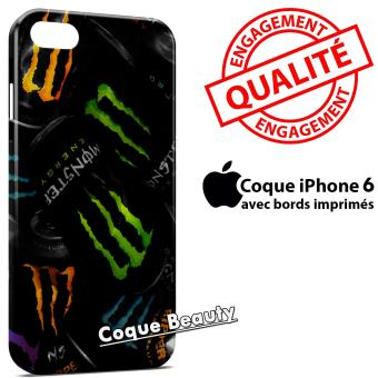 coque iphone 6 monster energy