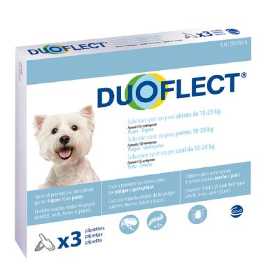 Duoflect Chiens 10-20 kg 3 pipettes