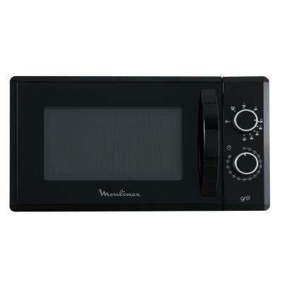 Micro-ondes et gril à posable Moulinex MO20MGBL 800 W Noir