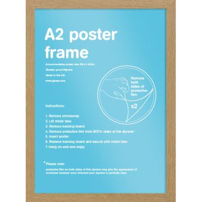 Cadre pour affiches Chene - A2 42 x 59.4cm - Eton