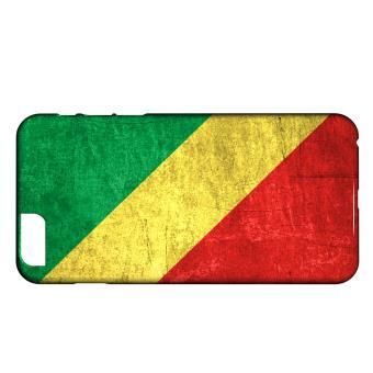 Coque iPhone 6 Plus 6S Plus Drapeau REPUBLIQUE DU CONGO 01