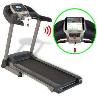 Vidaxl Tapis Roulant Motorise 1 75 Hp Bluetooth Application