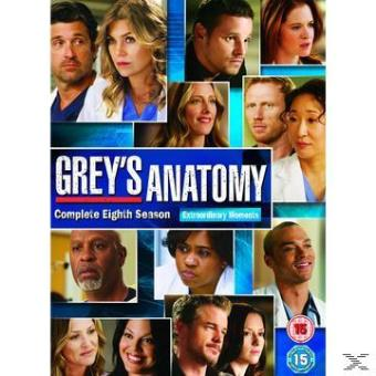 GREY'S ANATOMY S8 (6DVD) (IMP)