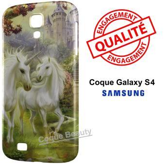 coque galaxy s4 licorne