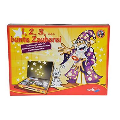 Noris - 606321164 - kit magique - 1,2,3, ... Variée spectacle de magie