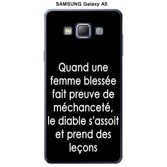 Coque Samsung Galaxy A5 design Citation