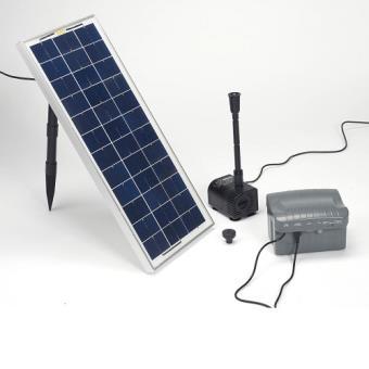 pompe solaire avec batterie pour bassin pompes solaires. Black Bedroom Furniture Sets. Home Design Ideas