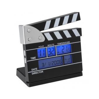 la chaise longue réveil thermomètre clap de cinéma achat