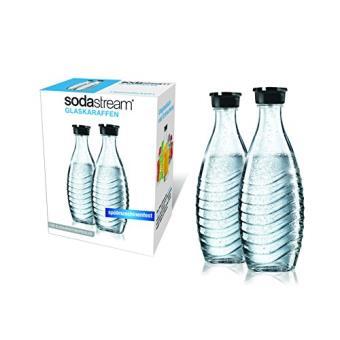 Sodastream duopack / 1047200490 glazen karaf 2 x 0.6 l voor pinguïn- en kristallen modellen