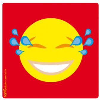 Emoticons Poster Sticker Autocollant Emoji Smiley Pleure De Rire