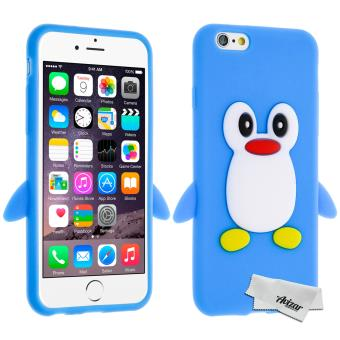coque iphone 6 silicone pingouin