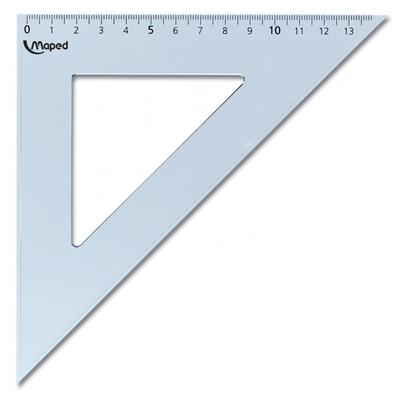 Equerre 45° Maped Start hypoténuse 21 cm