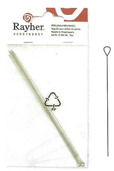 Aiguille pour enfiler les perles - 90 mm