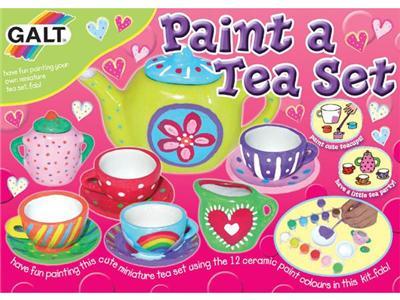 GALT - Coffret d'activités - peins ton service à thé