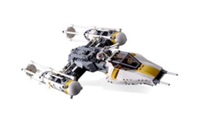 7658 Y-Wing Fighter Lego Star Wars